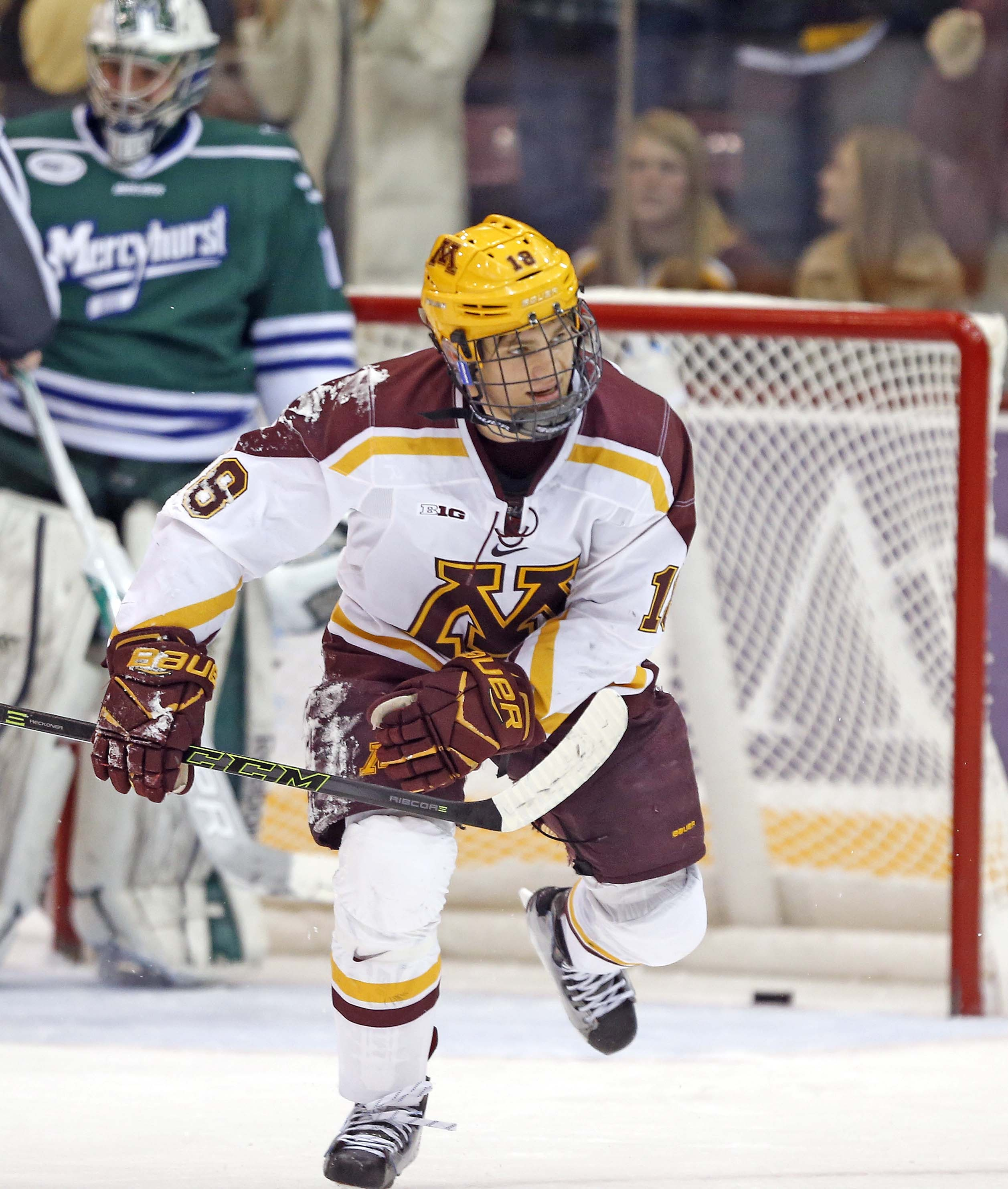 ceeaf7301a8 Gophers Host Clarkson This Weekend - University of Minnesota Athletics