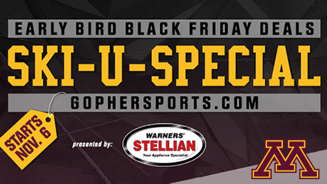 Gophers Announce Expanded Black Friday Deals University Of Minnesota Athletics