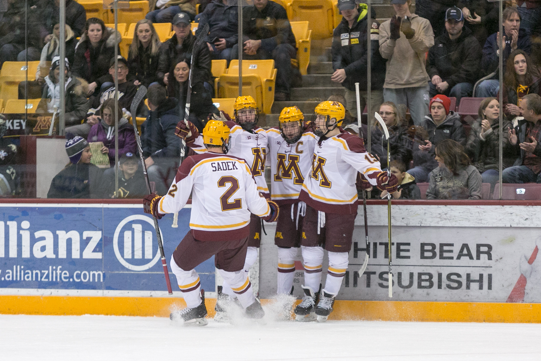 Gophers Return to B1G Play with Michigan - University of