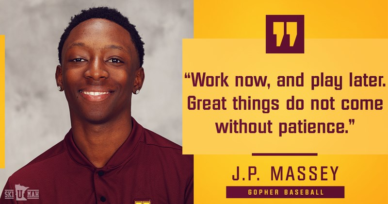 Circling the Bases ... with J.P. Massey - University of Minnesota Athletics