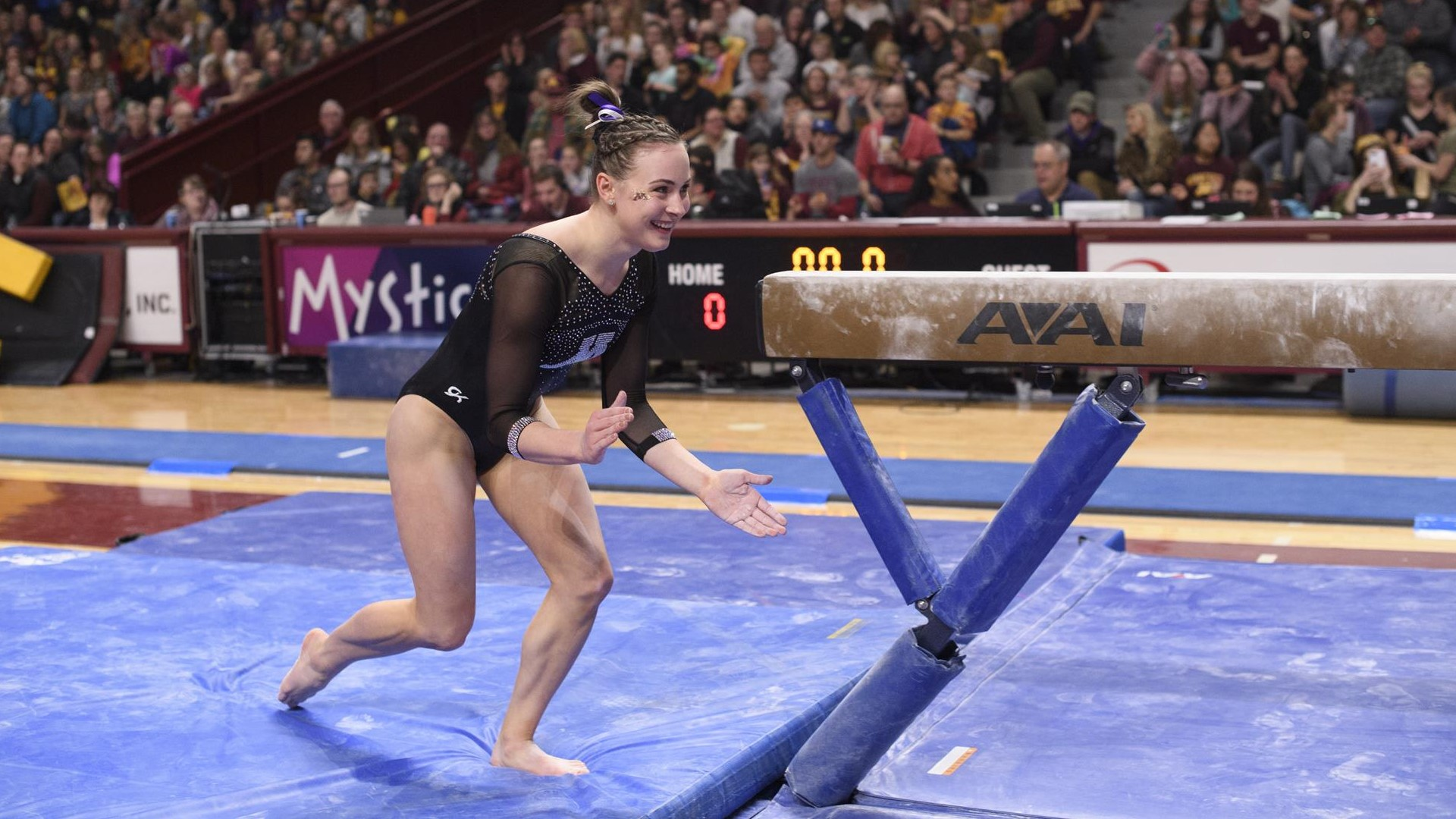 Gophers Post Record Scores In Win Over Penn State University Of