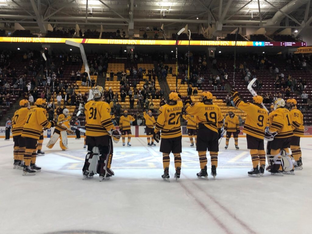 Minnesota Opens Home Slate with Sweep
