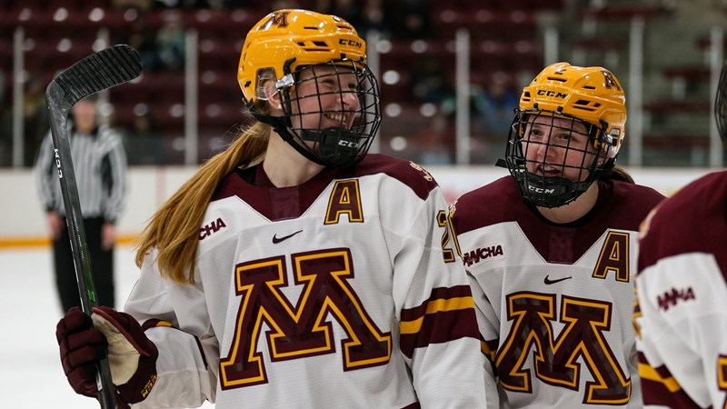 Six Gophers Honored by WCHA - University of Minnesota Athletics