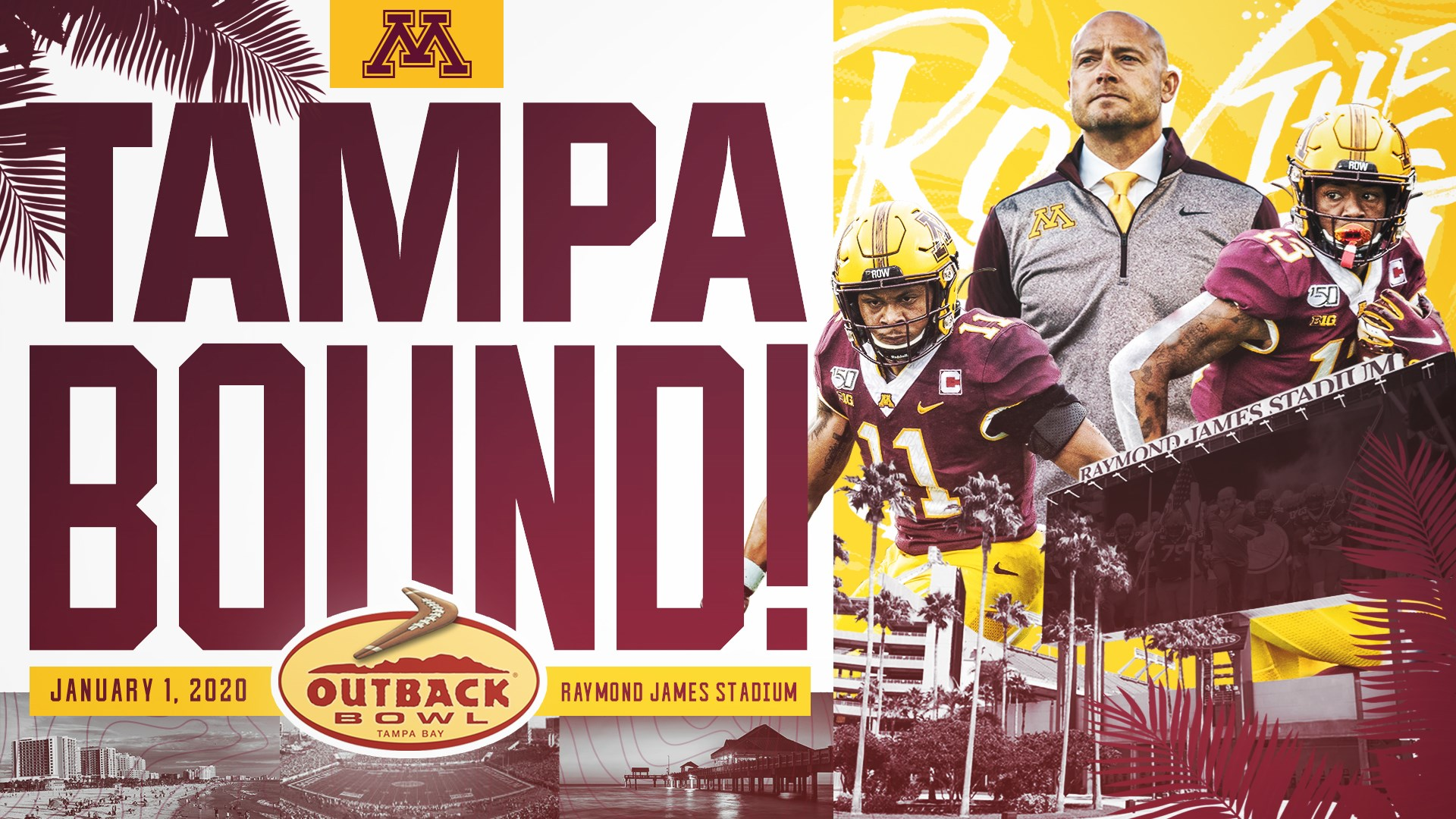 Bowl Games Jan 1 2020.Gophers Headed To Outback Bowl University Of Minnesota