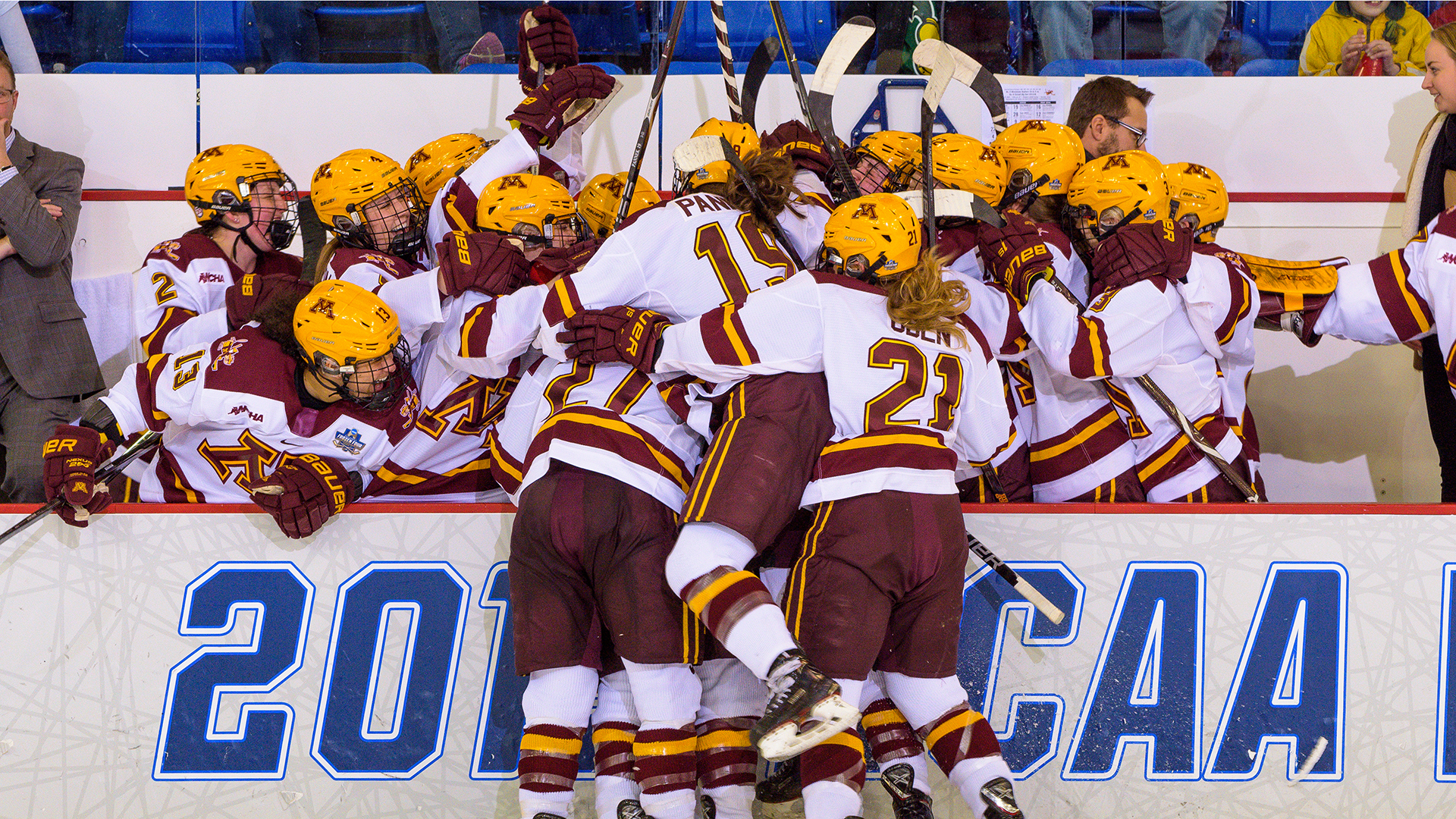 40dc43f1e Minnesota Tops Cornell to Advance to NCAA Title Game - University of ...