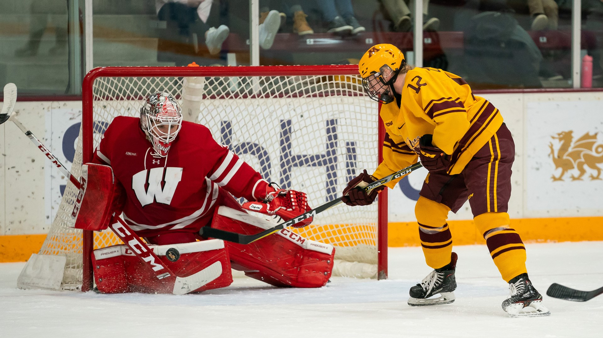Gophers Fall to Badgers 5-4 in Overtime