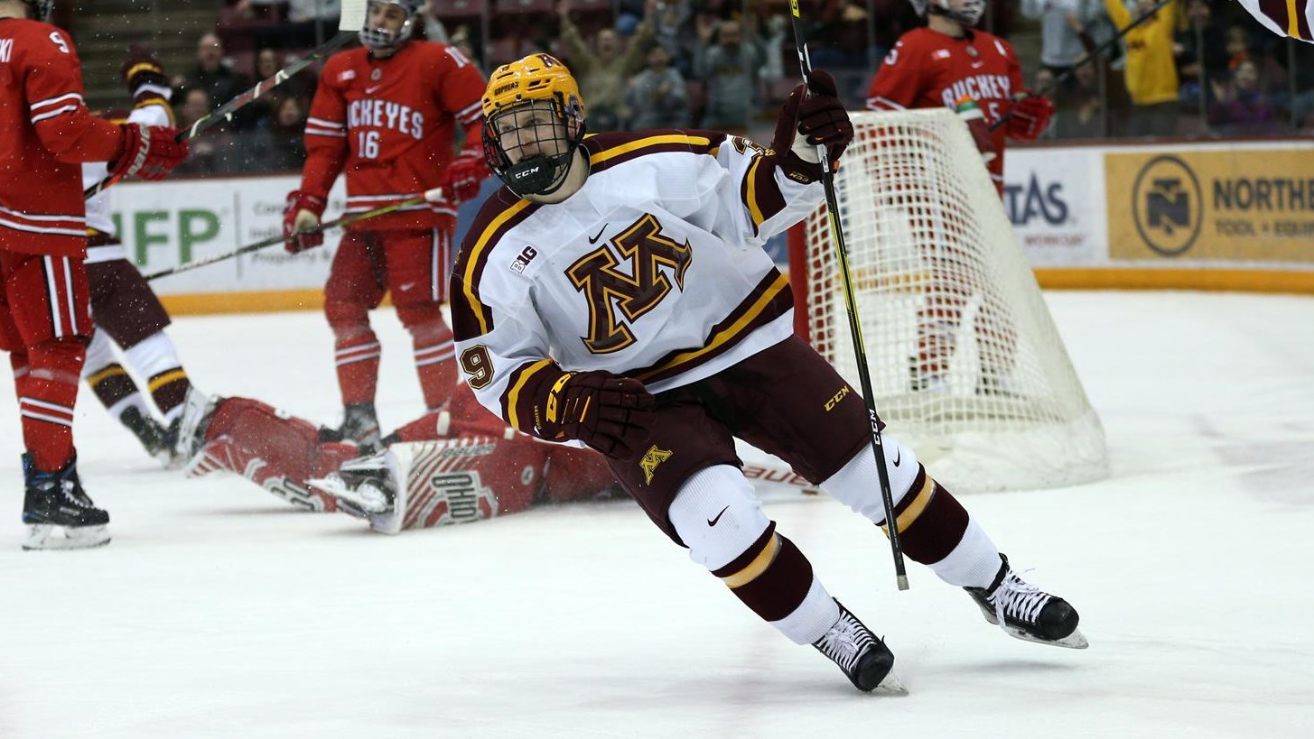 Gophers Break Out in 6-3 Win Over OSU